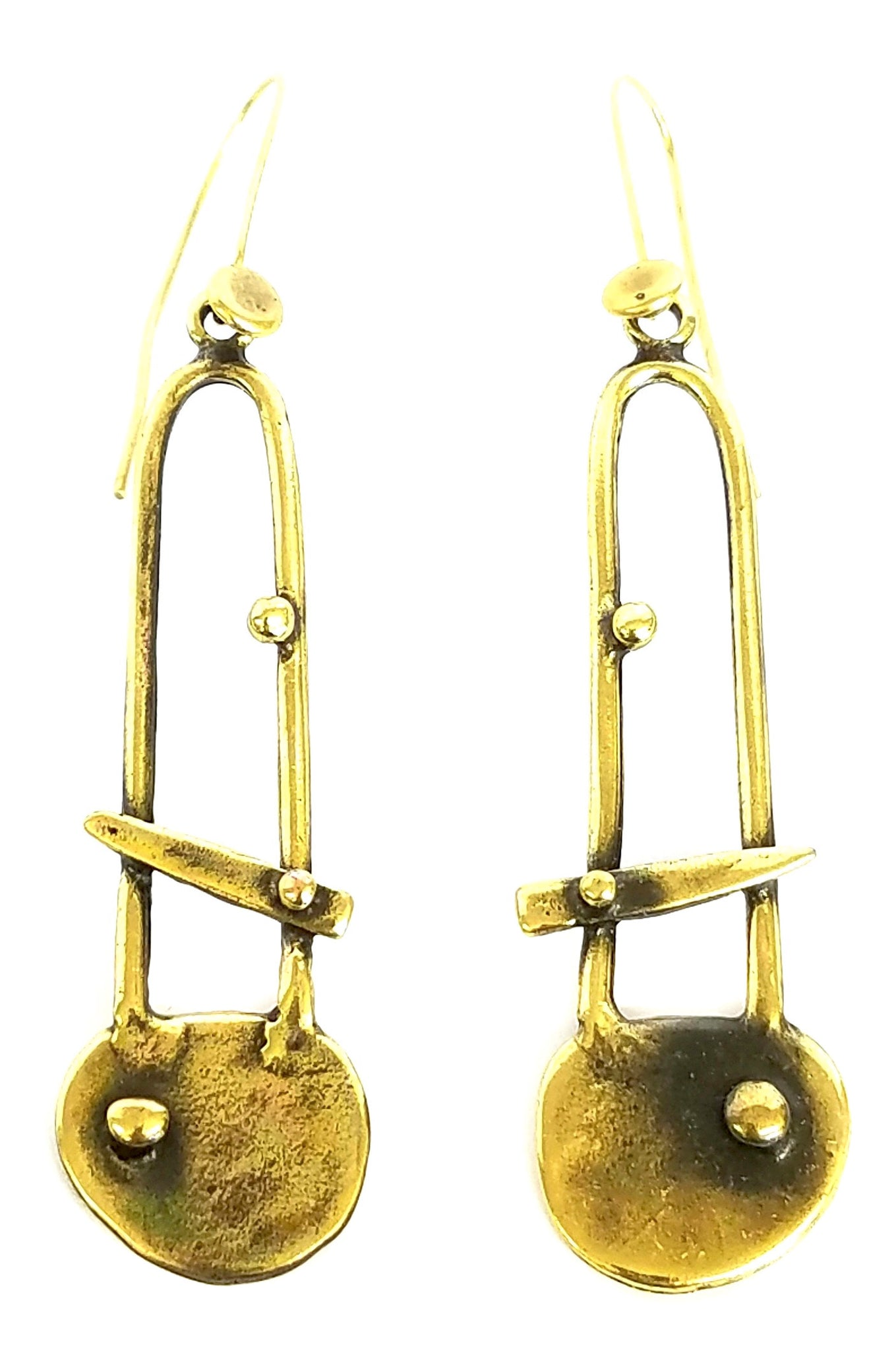 Bronze Earrings - SKU# KU118 BRONZE