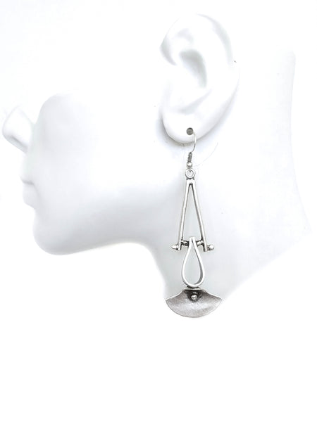 Pewter Earrings - SKU# KU119