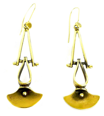 Bronze Earrings - SKU# KU119 BRONZE