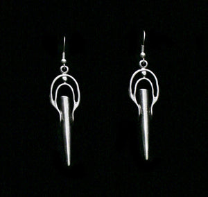 Pewter Earrings - SKU# KU125