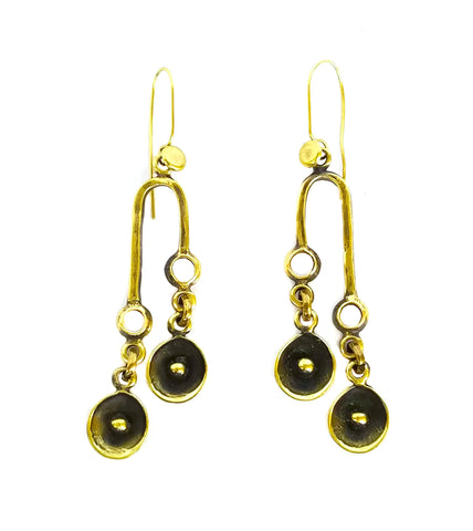 Bronze Earrings - SKU# KU150 BRONZE