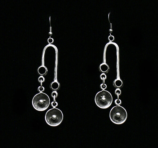 Pewter Earrings - SKU# KU150