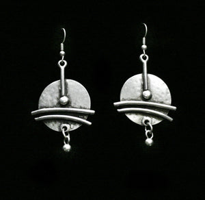 Pewter Earrings - SKU# KU152