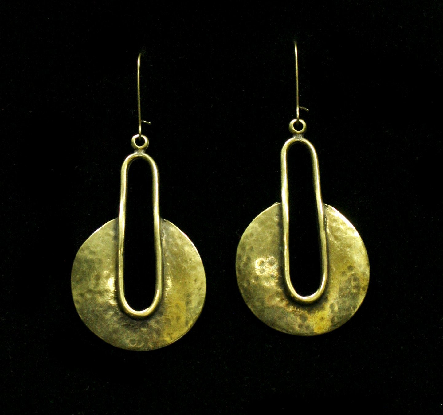 Bronze Earrings - SKU# KU153 BRONZE
