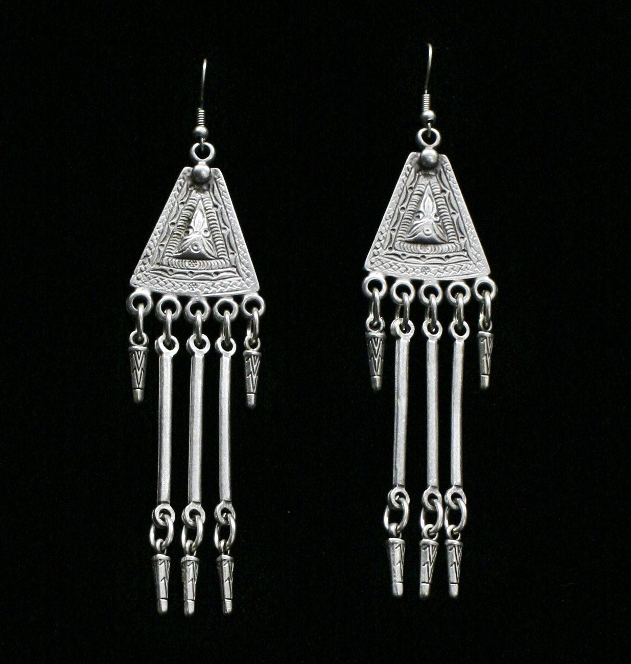 Pewter Earrings - SKU# KU23