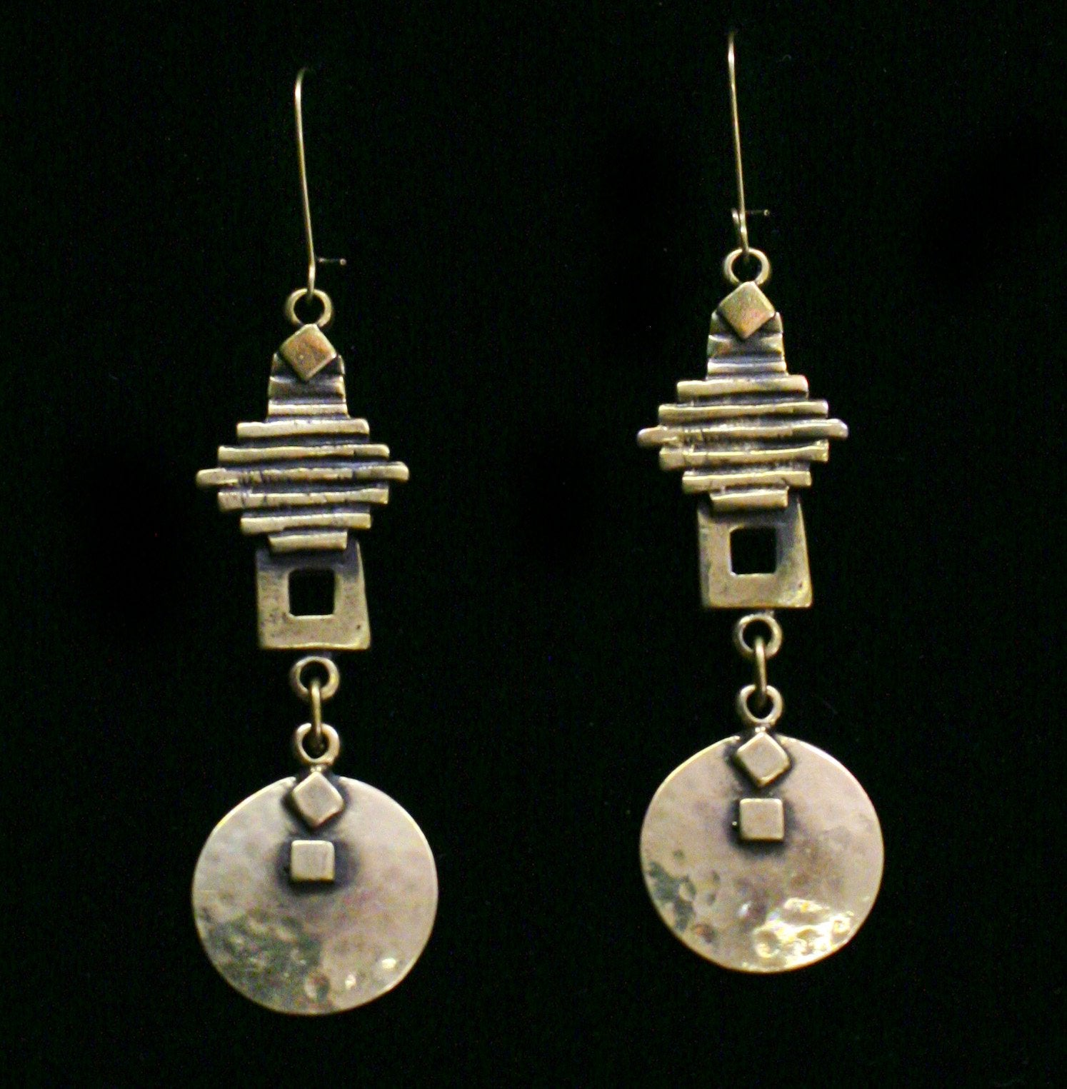 Bronze Earrings - SKU# KU45 BRONZE
