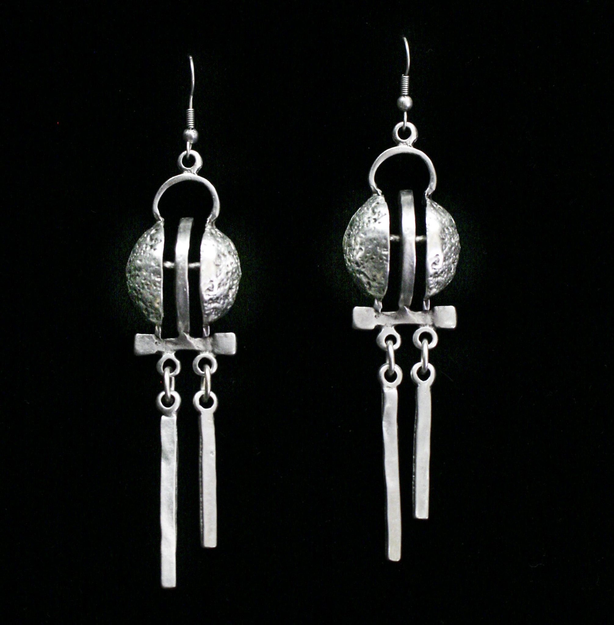 Pewter Earrings - SKU# KU46