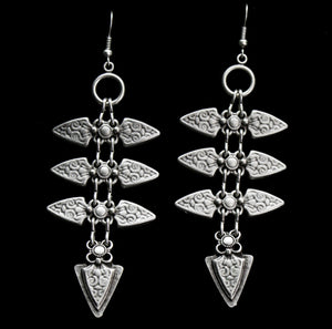 Pewter Earrings - SKU# KU77
