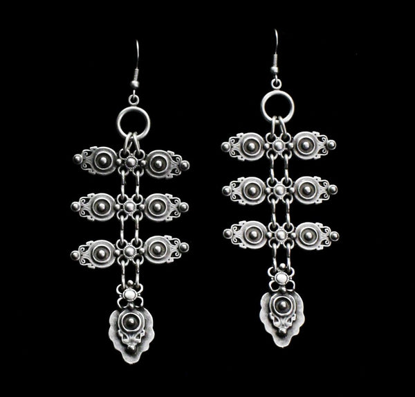 Pewter Earrings - SKU# KU79