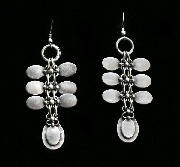 Pewter Earrings - SKU# KU81