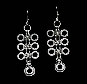 Pewter Earrings - SKU# KU84