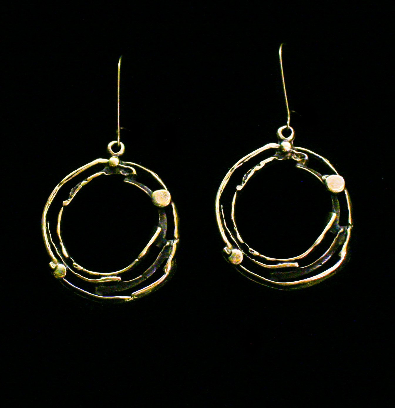 Bronze Earrings - SKU# KU90 BRONZE