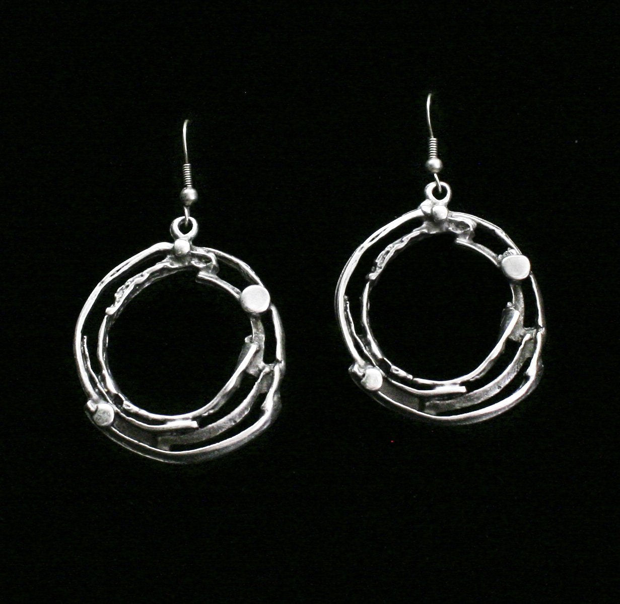 Pewter Earrings - SKU# KU90