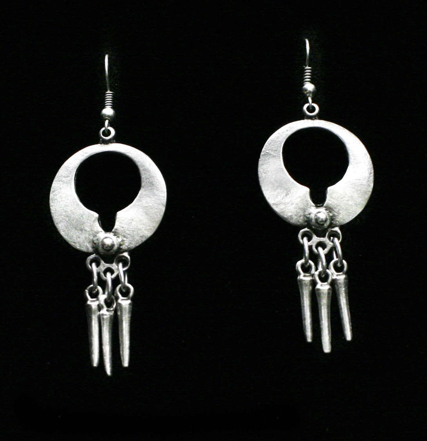 Pewter Earrings - SKU# NE1012