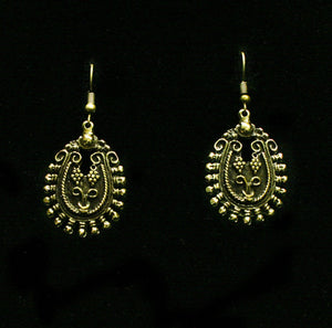 Bronze Earrings - SKU# NE1149BRN