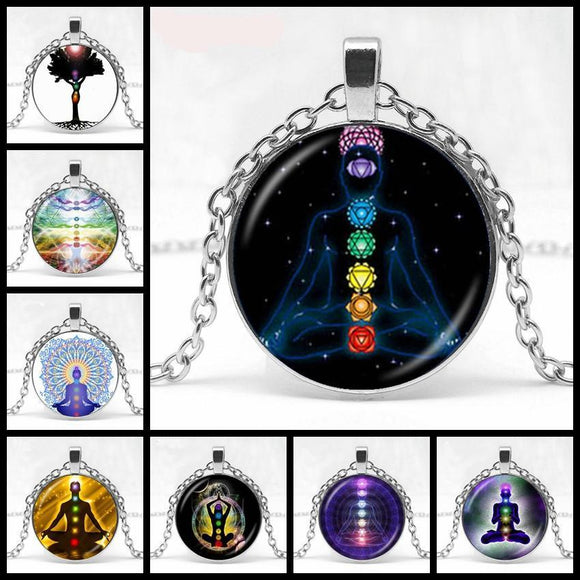 Yoga Chakra/Meditation Necklaces  - PRODUCT CLOSEOUT SPECIAL!