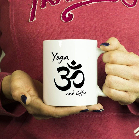 Drinkware - Yoga And Coffee 10 Oz. Mug
