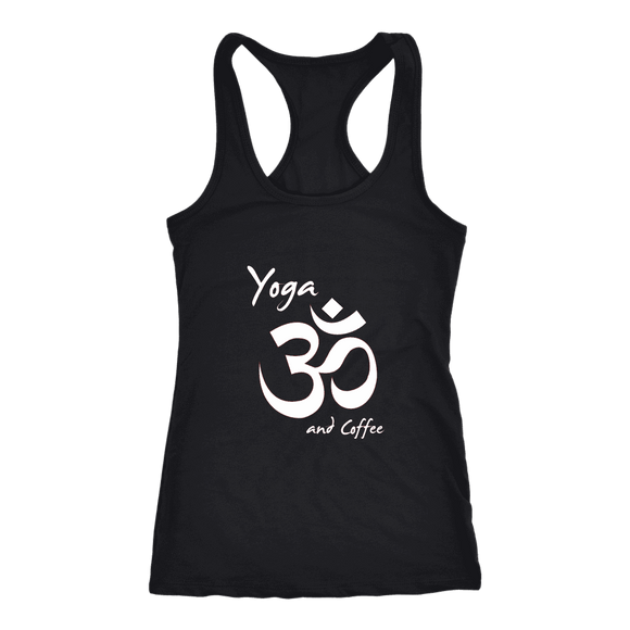 T-shirt - Yoga And Coffee Tank Top