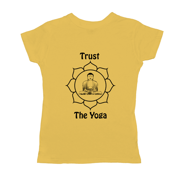 Trust The Yoga Basic Womens T-Shirt