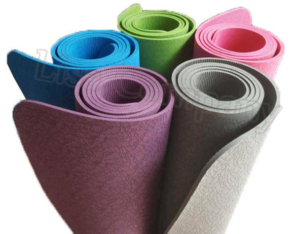 Yoga Mats - 6MM Yoga Mat Non-slip Environmental