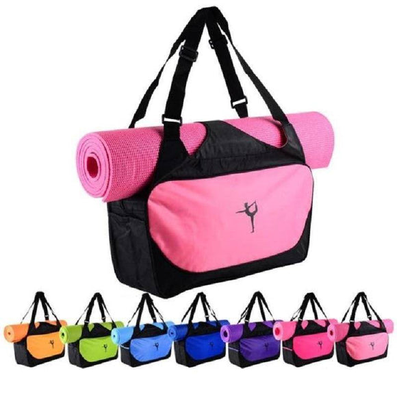 Yoga Mats - Multi-Function Waterproof Yoga Mat Bag