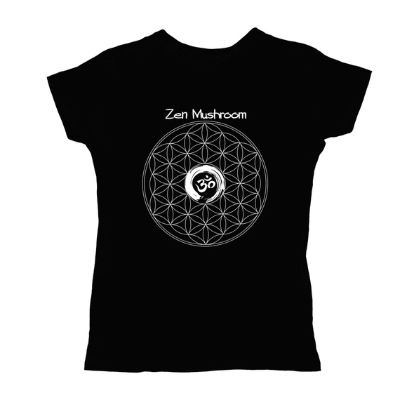 ZM Om Circle Tultex T-Shirt (white Logo)