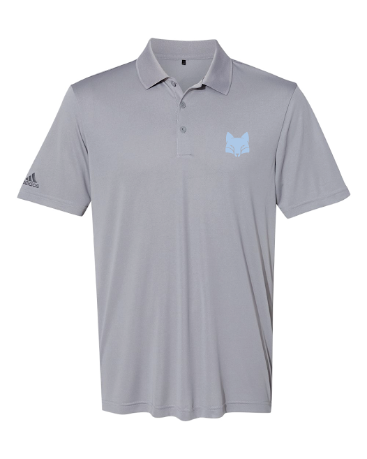 Adidas Grey Performance Polo