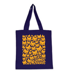 Foxes All Over Tote Bag
