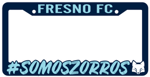 Fresno FC License Plate Frame