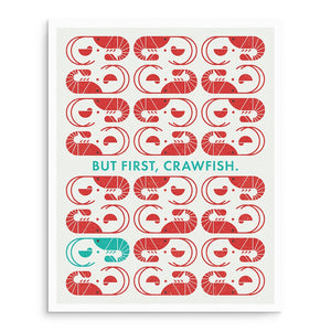 Art Prints - Crawfish Art Print