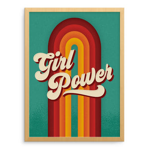 Art Prints - Girl Power Art Print