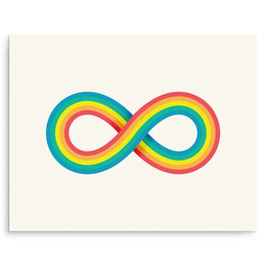 Art Prints - Infinite Rainbow