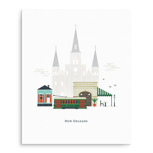 Art Prints - Little City Art Print