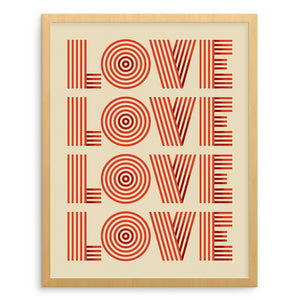 Art Prints - LOVE Art Print