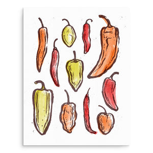 Art Prints - Peppers Art Print