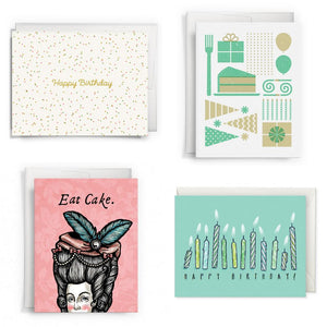 Card Set - Assorted Birthday Card Set