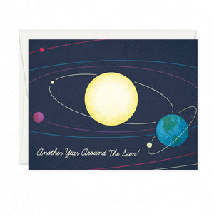 Greeting Cards - Around The Sun