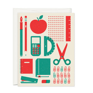 Greeting Cards - Back To School