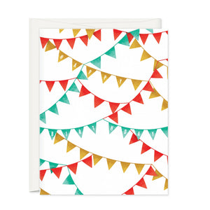 Greeting Cards - Birthday Flag