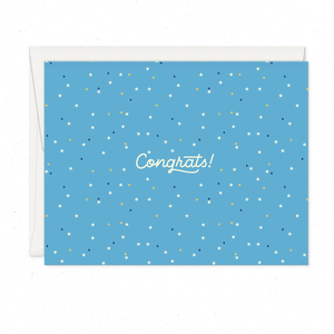 Greeting Cards - Congrats Script