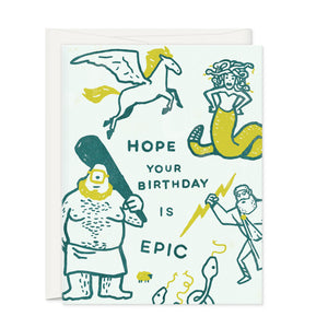 Greeting Cards - Epic Birthday