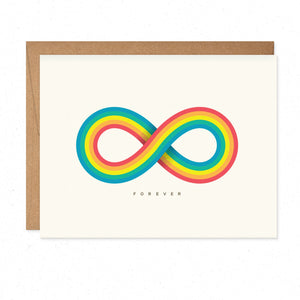 Greeting Cards - Infinite Rainbow