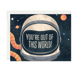 Greeting Cards - Out Of This World