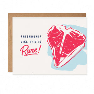 Greeting Cards - Rare Friendship