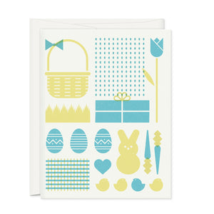 Greeting Cards - Simple Easter