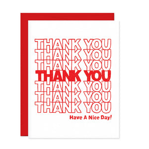 Greeting Cards - Thank You Bag