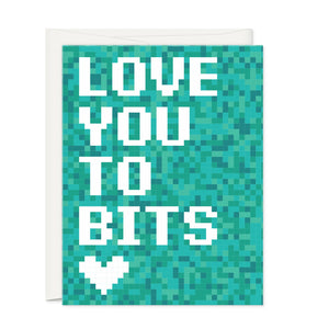 Greeting Cards - To Bits