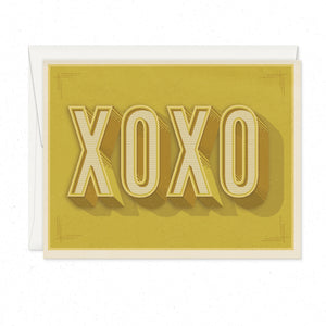 Greeting Cards - XOXO