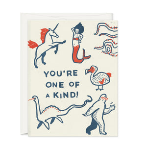 Greeting Cards - YOU'RE ONE OF A KIND