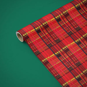 Wrapping Paper - Plaid Wrapping Paper